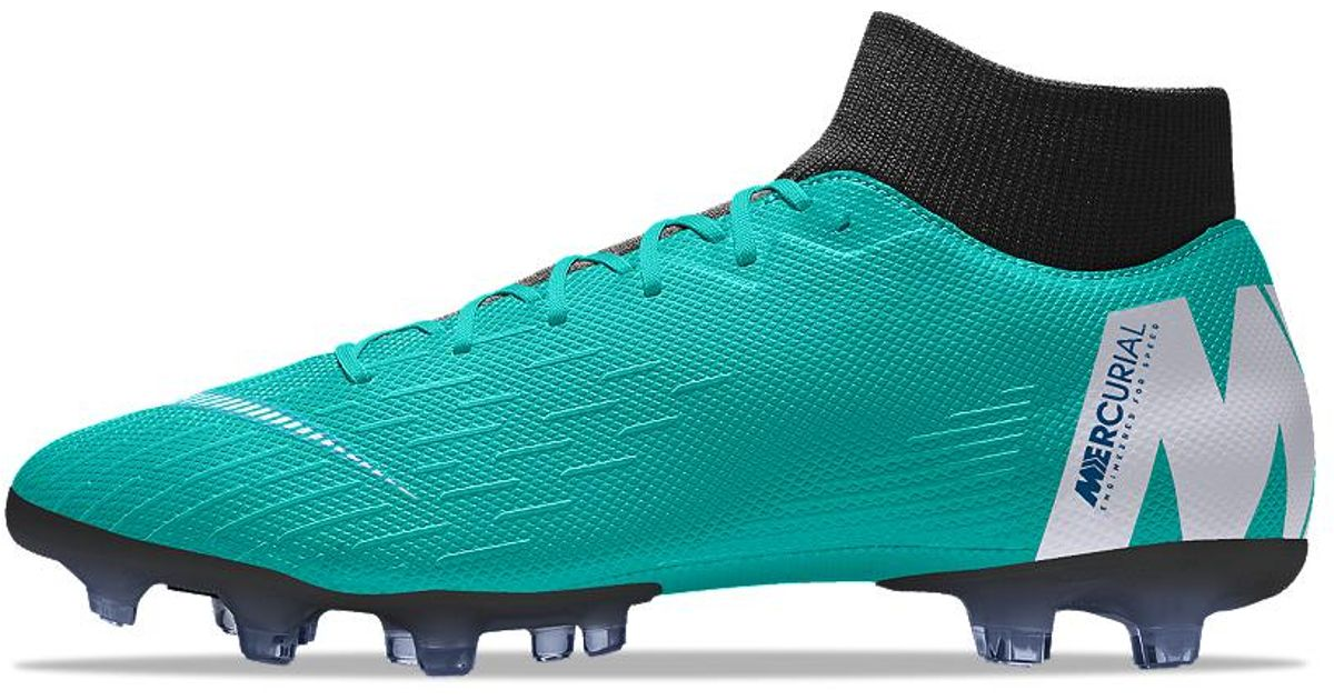 b91f7b011 Nike Mercurial Superfly Vi Academy Mg Id Multi-ground Soccer Cleats in Blue  for Men - Lyst