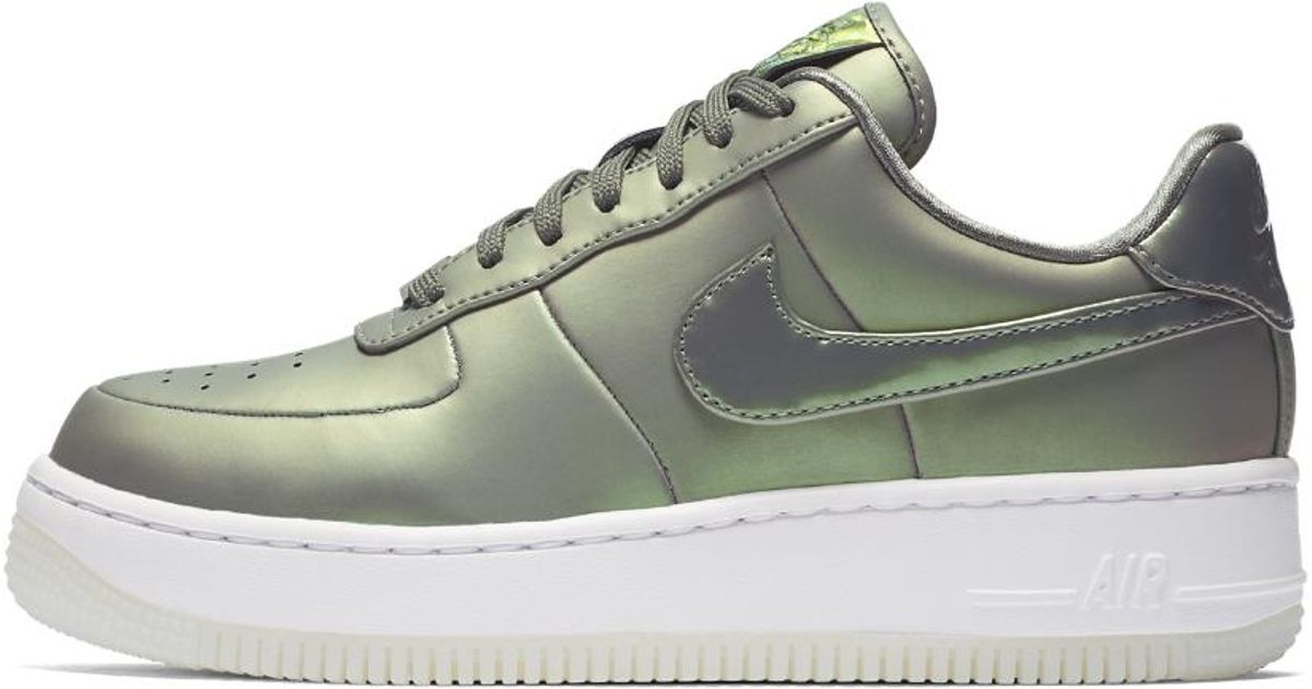 best service a58f7 b47a9 ... 50% off lyst nike air force 1 upstep premium lx womens shoe in white  4b2e0