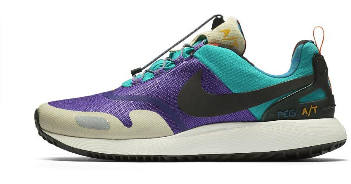 97ca42a0eefd Lyst - Nike Air Pegasus At Pinnacle Men s Shoe in Blue for Men
