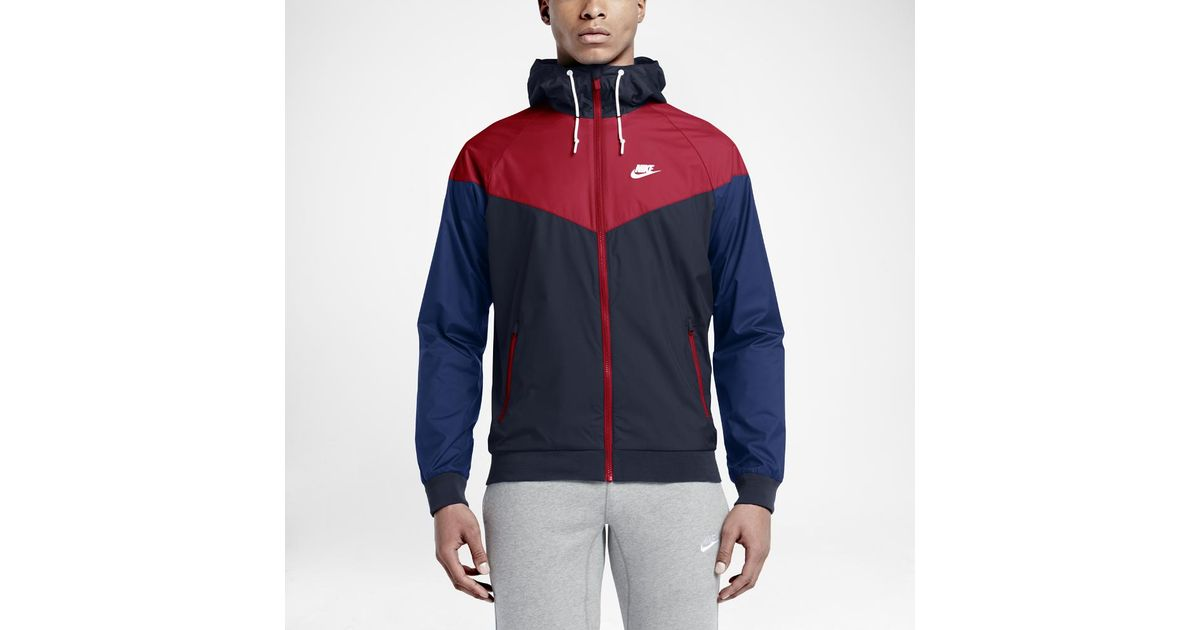 Lyst - Nike Sportswear Windrunner Men s Jacket in Blue for Men 58d8babdd