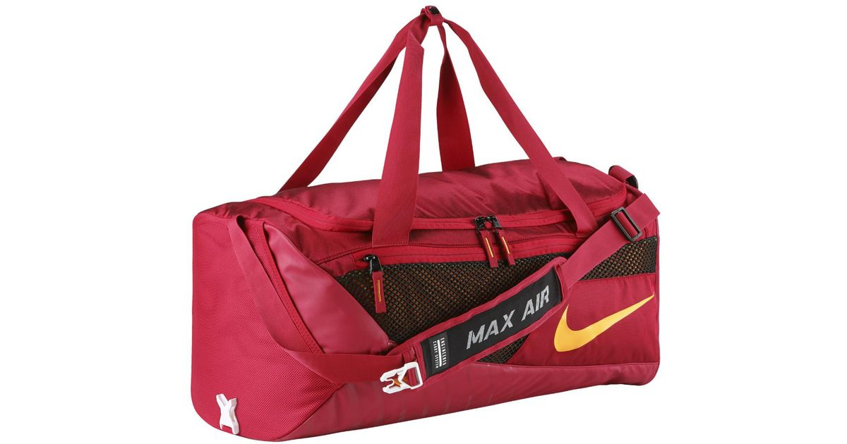 Lyst - Nike College Vapor (usc) Duffel Bag (red) in Red 347d6672147cc