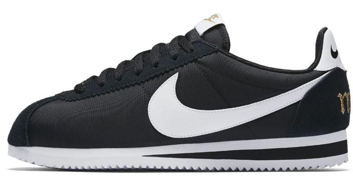 7e1f259fa56 Lyst - Nike Classic Cortez Premium Xlv Women s Shoe in Black