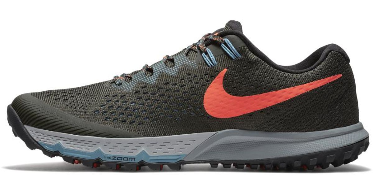 best service 22380 ca541 Nike Air Zoom Terra Kiger 4 Men s Running Shoe in Black for Men - Lyst