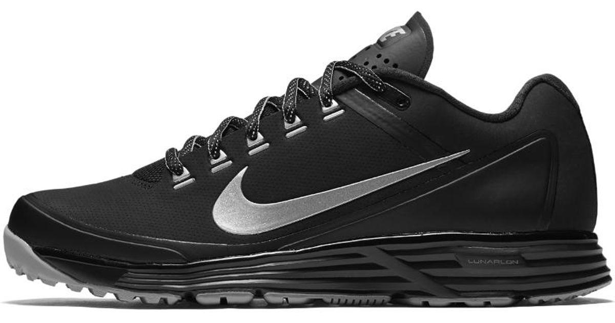 d9ecc7a8988 Lyst - Nike Alpha Lunar Clipper  17 Turf Men s Baseball Shoe in Black for  Men