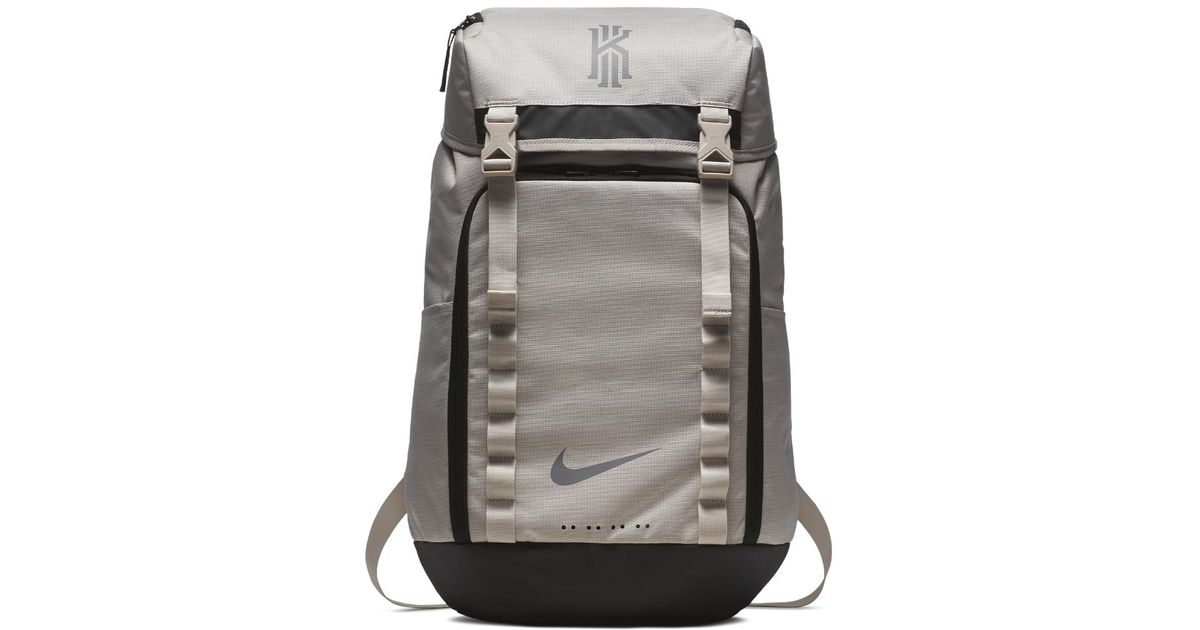 Lyst Nike Kyrie Basketball Backpack Cream In Black For Men