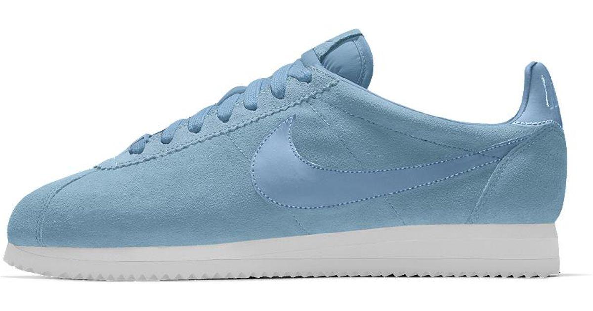 best sneakers fdd60 5f979 Lyst - Nike Cortez Premium Id Men s Shoe in Blue for Men