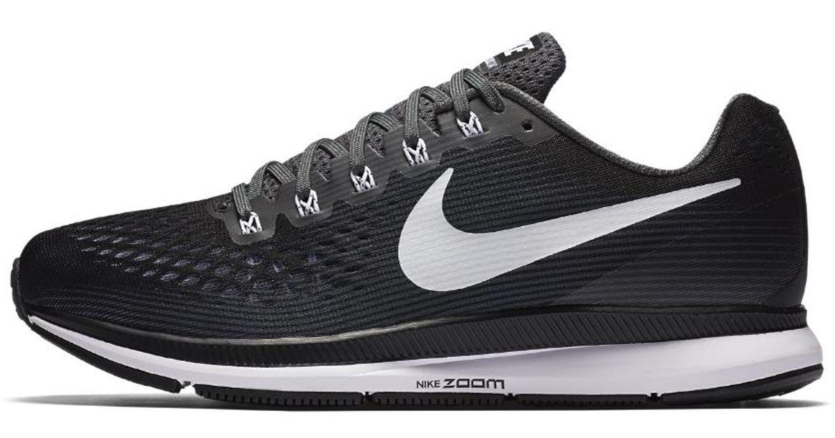 7ea167509b5a Lyst - Nike Air Zoom Pegasus 34 (extra-wide) Men s Running Shoe in Black  for Men