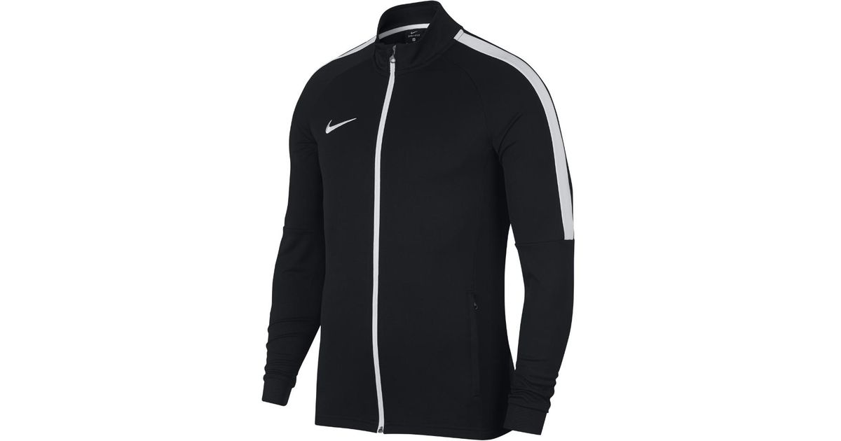e5b6567fd93f Lyst - Nike Dri-fit Academy Men s Soccer Track Jacket in Black for Men