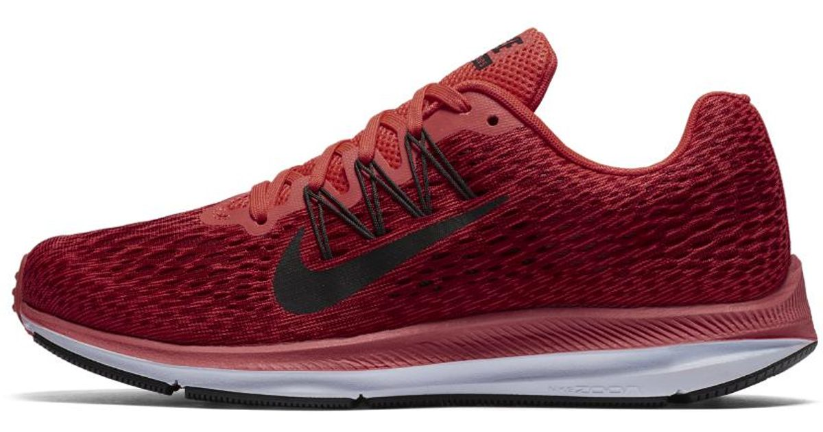 Lyst - Nike Air Zoom Winflo 5 Women s Running Shoe in Red 29f3bdd5d2