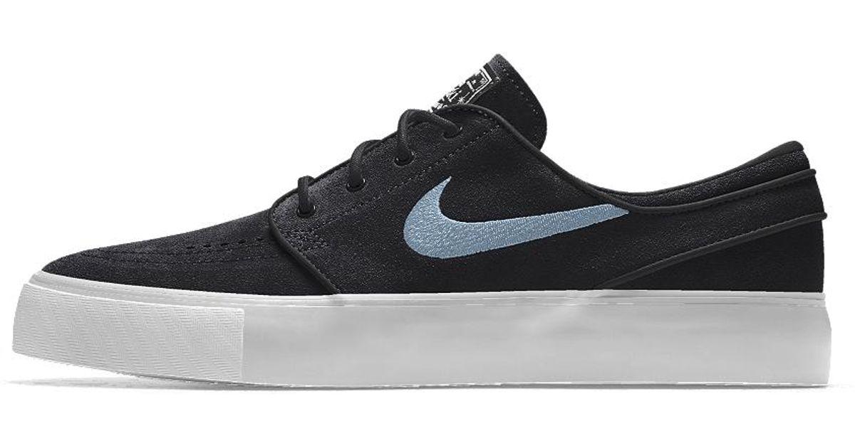 002fa8372a69 Lyst - Nike Sb Zoom Stefan Janoski Id Women s Skateboarding Shoe in Black