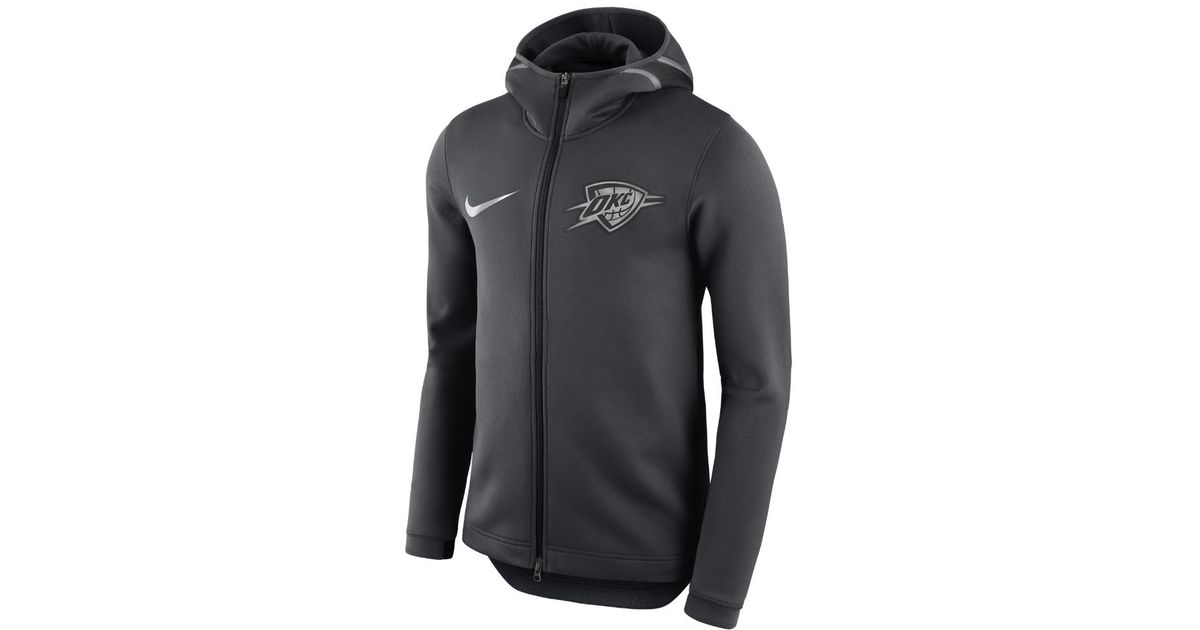 4a74b5f6 Nike Oklahoma City Thunder Therma Flex Showtime Men's Nba Hoodie in Black  for Men - Lyst