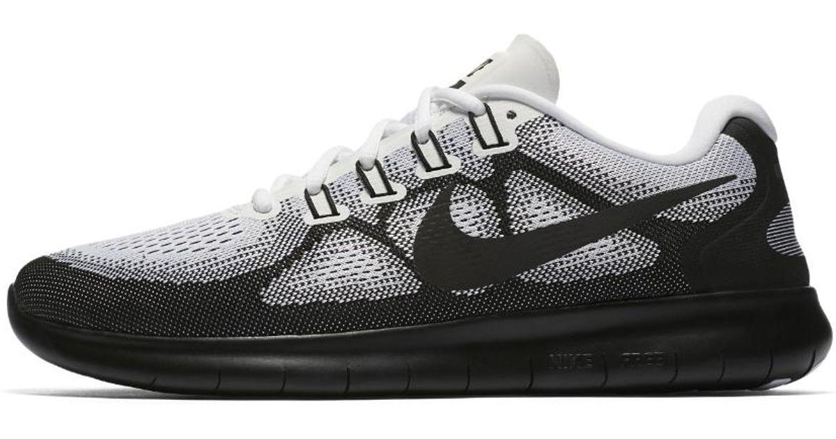 c1500f423e9e Lyst - Nike Free Rn 2017 Le Men s Running Shoe in Black for Men