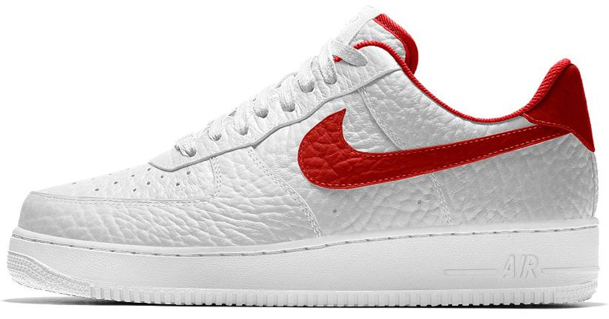 hot sales f0e1f 92fc6 Nike Air Force 1 Low Premium Id (toronto Raptors) Men s Shoe in White for  Men - Lyst