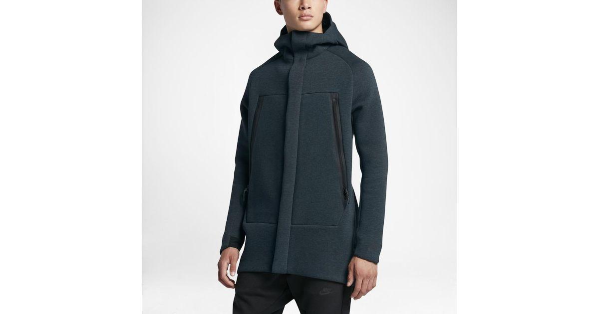 3330626900d3f Lyst - Nike Sportswear Tech Fleece Men s Parka in Black for Men