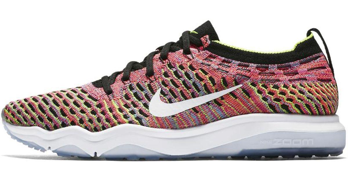 Nike - Multicolor Air Zoom Fearless Flyknit Lux Women s Training Shoe - Lyst c1459e814
