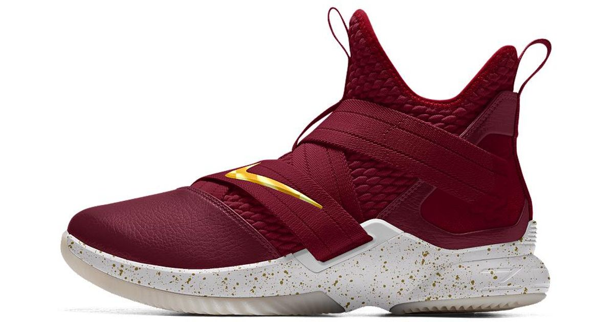 2219dc74dddb ... norway lyst nike lebron soldier xii id mens basketball shoe in red for  men ba038 519ef