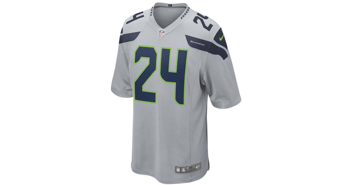 marshawn lynch jersey mens