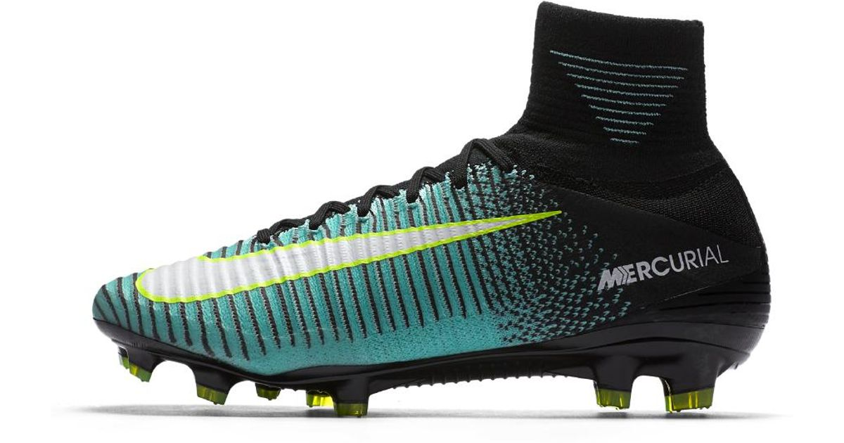 Lyst - Nike Mercurial Superfly V Dynamic Fit Women s Firm-ground Soccer  Cleats in Black 434a00a818