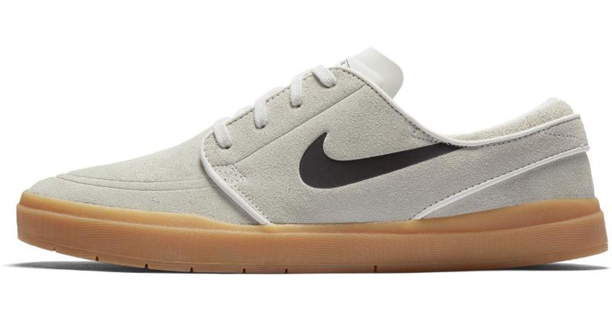 new arrival 5fada ea251 Lyst - Nike Sb Lunar Stefan Janoski Hyperfeel Men s Skateboarding Shoe in  White for Men