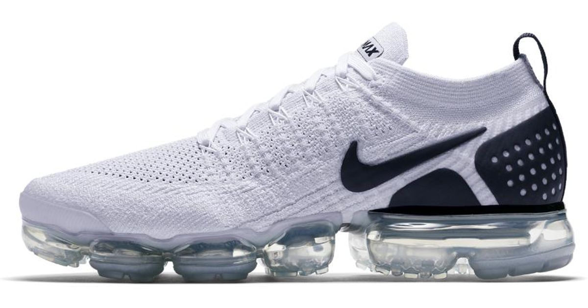 Lyst - Nike Air Vapormax Flyknit 2 Men s Running Shoe in White for Men 60fe24670
