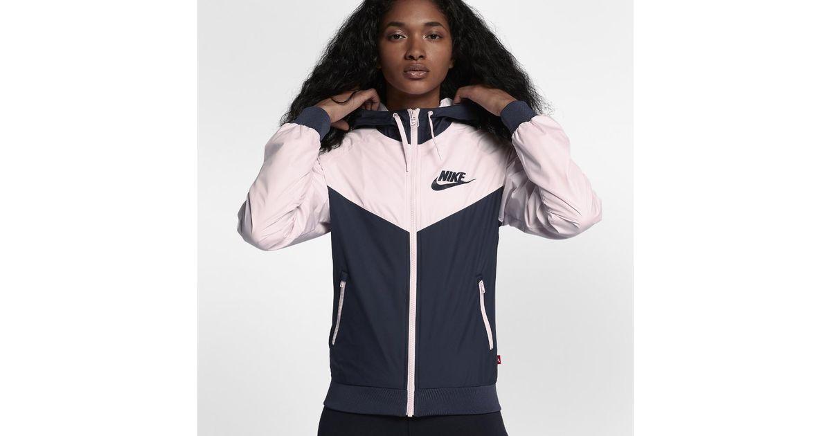d7ebbb20e Nike Sportswear Windrunner Women's Jacket - Lyst