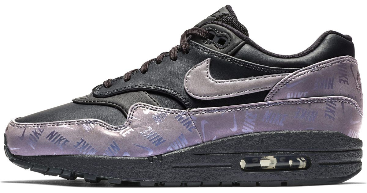 4f7a257169 Nike Air Max 1 Lx Shoe in Gray - Lyst