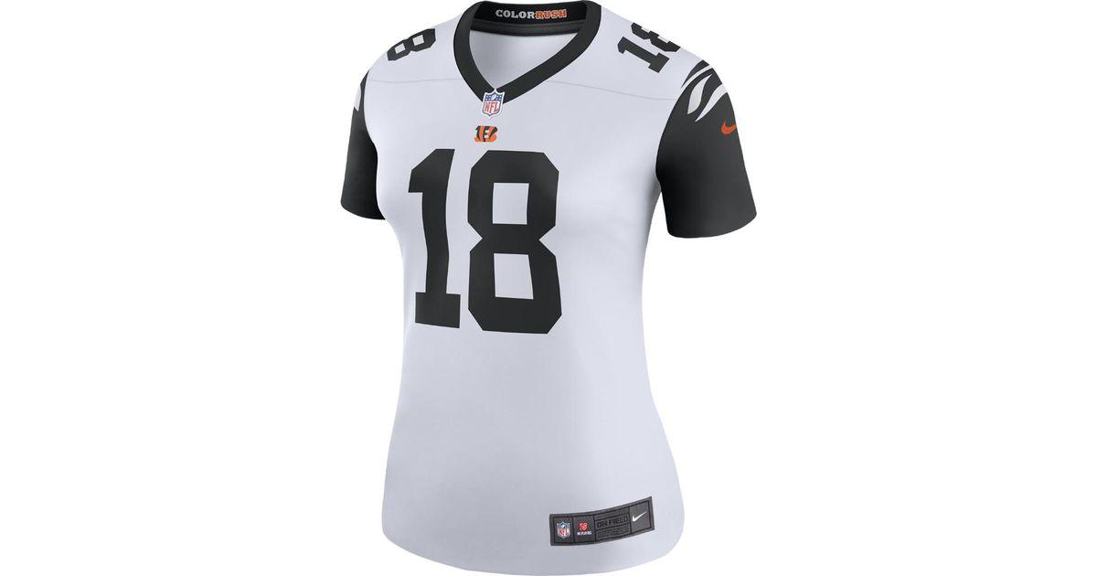 Lyst - Nike Nfl Cincinnati Bengals Color Rush Legend (a.j. Green) Women s  Football Jersey in White 6278939fc