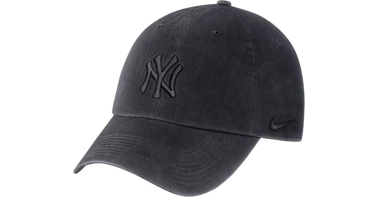 125453fc31c Lyst - Nike Heritage 86 (mlb Yankees) Adjustable Hat (blue) in Blue for Men
