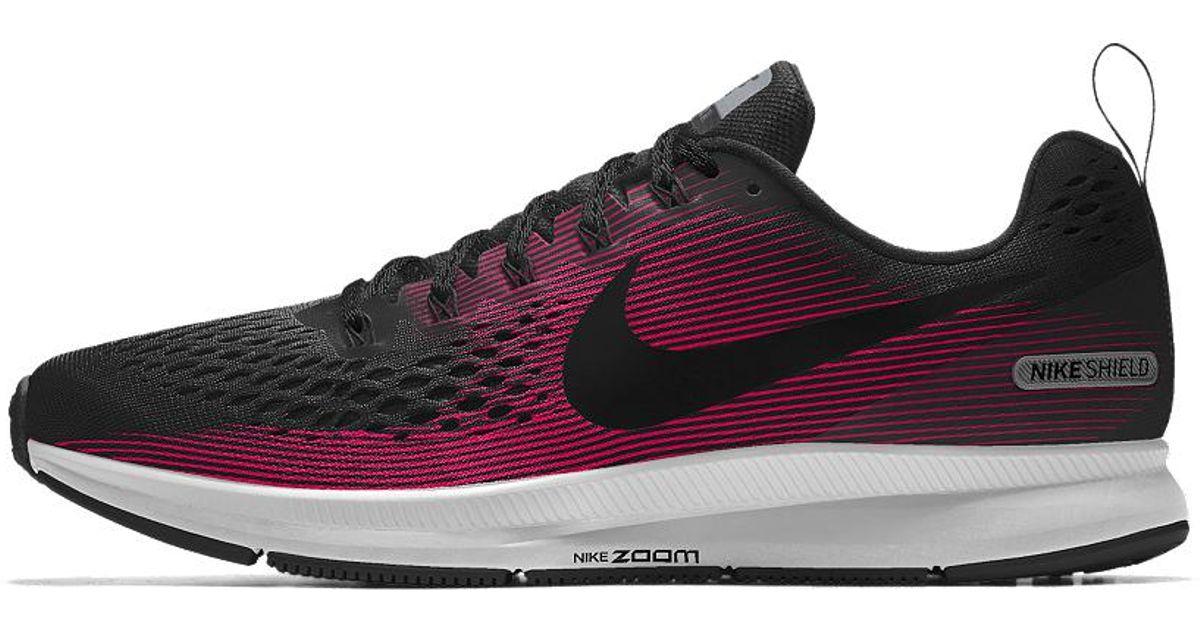 Lyst - Nike Air Zoom Pegasus 34 Shield Id Women s Running Shoe c4c020bc5edc6