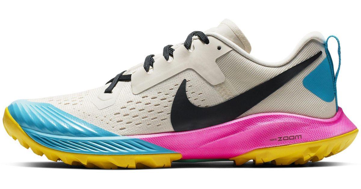 1c18d772c8c Nike Air Zoom Terra Kiger 5 (black barely Grey gunsmoke wolf Grey) Women s Running  Shoes - Lyst