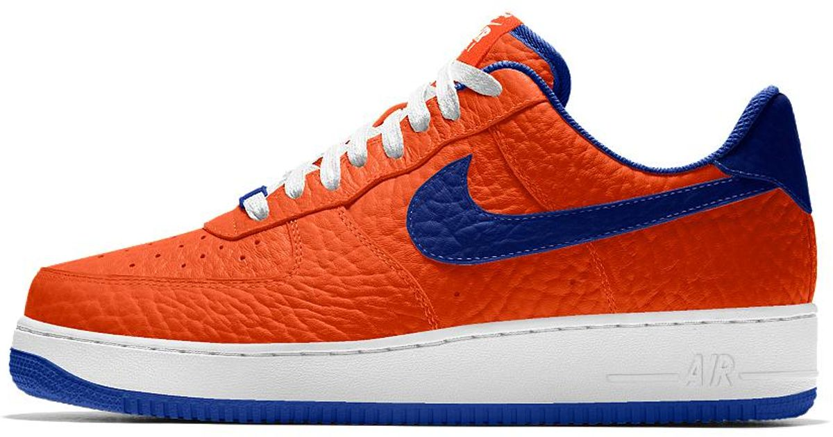 best sneakers f5419 5ee64 Nike Air Force 1 Low Premium Id (new York Knicks) Men s Shoe for Men - Lyst