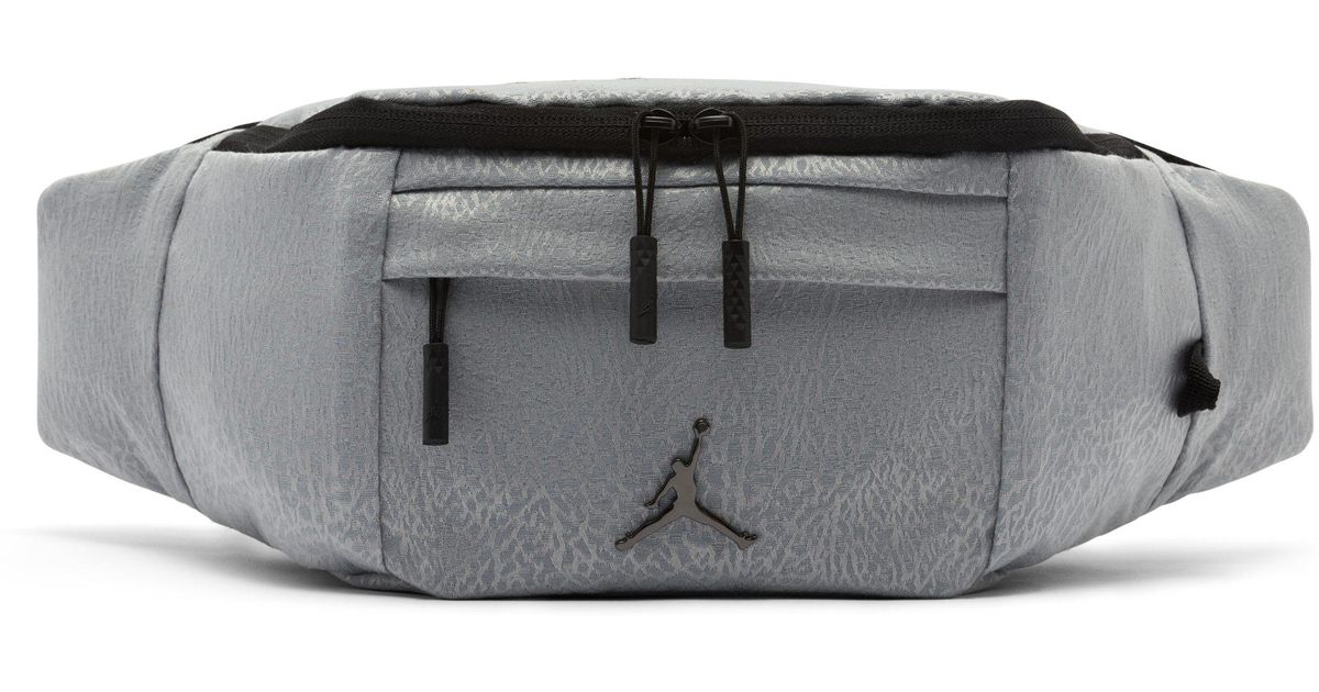 Nike Jordan Jumpman Air Crossbody Bag in Gray - Lyst 54dd3ad9dbbd9