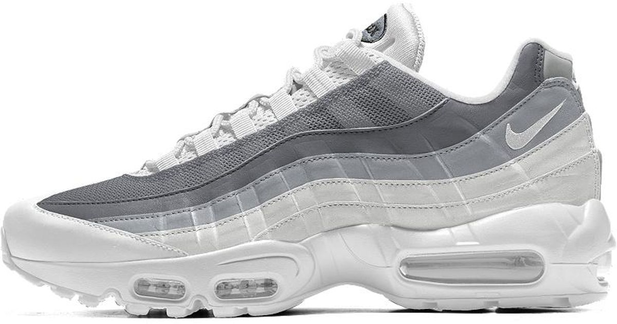 the best attitude c6c54 96f6a Nike Air Max 95 Id Men s Shoe in Gray for Men - Lyst