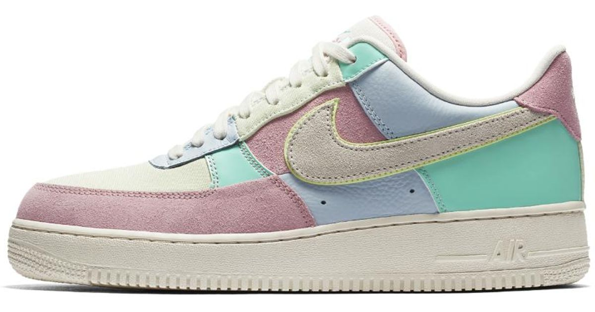 7db95329e33b Lyst - Nike Air Force 1  07 Qs Men s Shoe in Blue