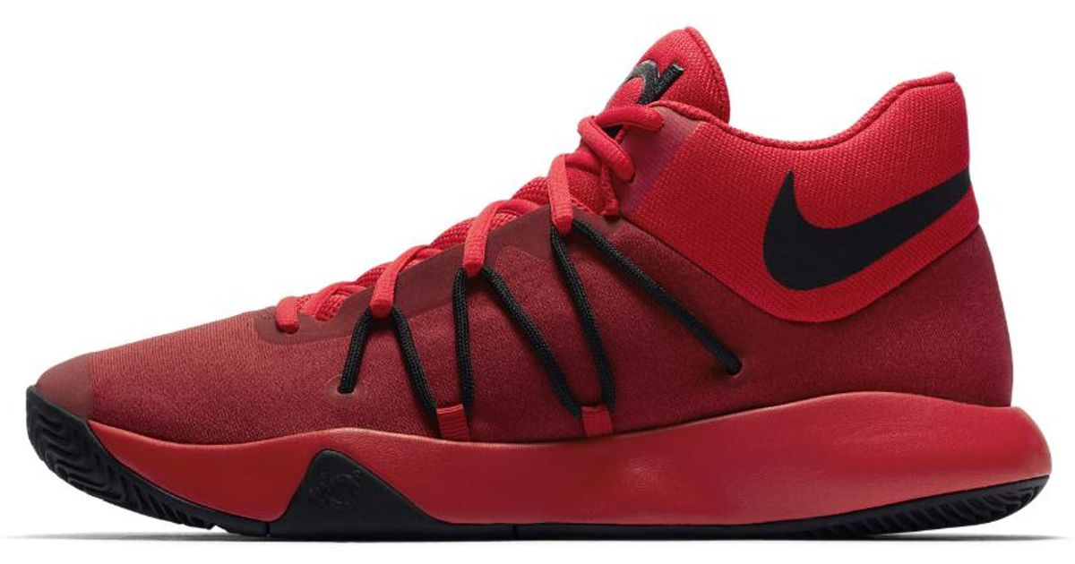 3702e715aae2 ... reduced lyst nike kd trey 5 v mens basketball shoe in red for men a33dc  ac7c3