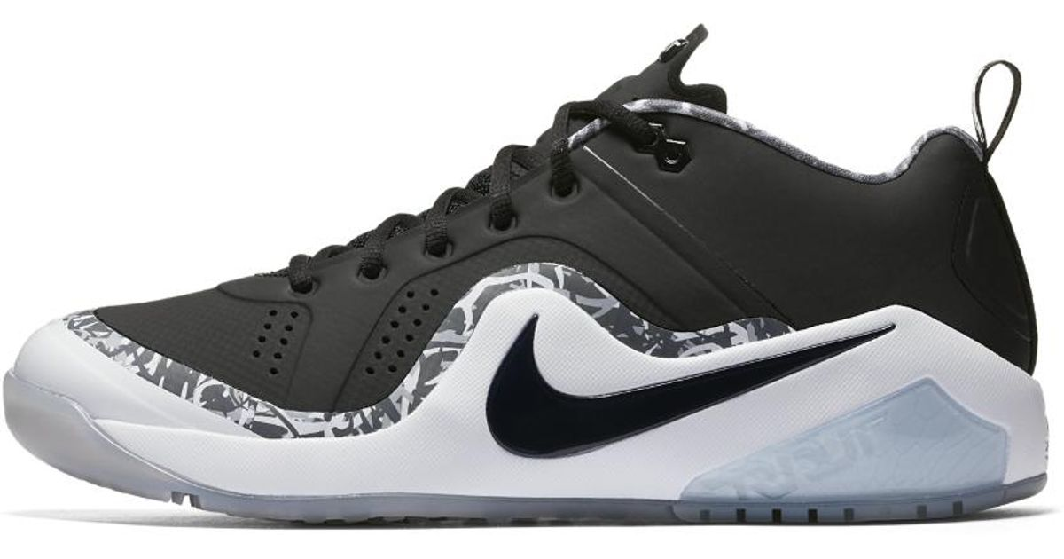 4a510a65777 Nike Force Zoom Trout 4 Men s Turf Baseball Shoe in Black for Men - Lyst