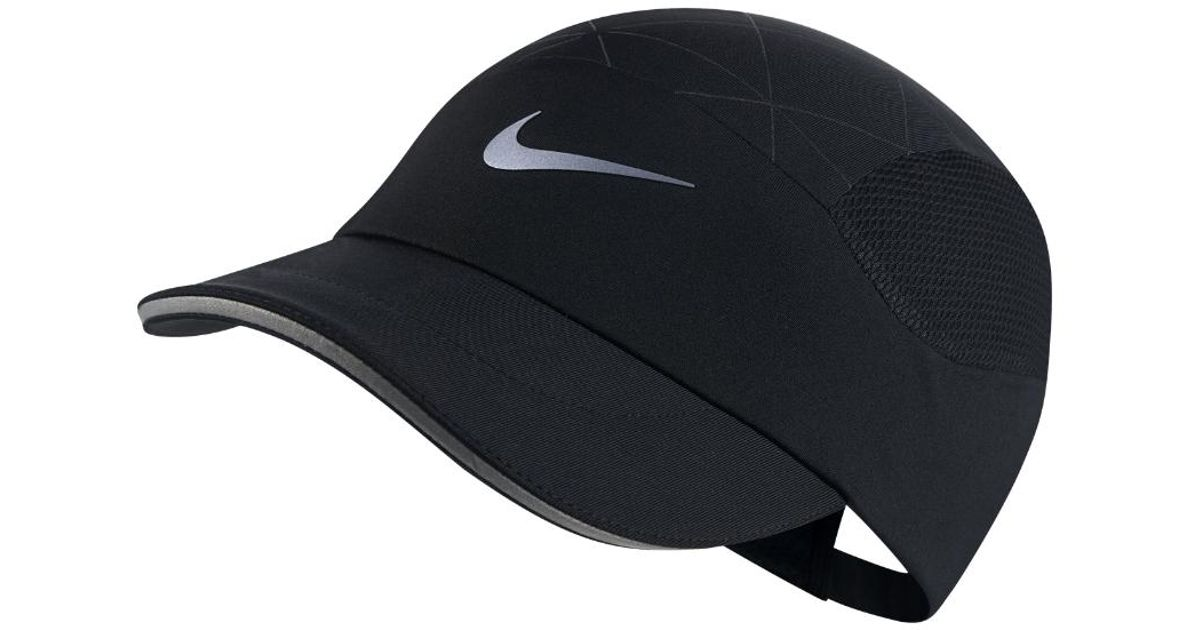 c99d39fb6891a Nike Aerobill Tailwind Running Cap in Black for Men - Save 3% - Lyst