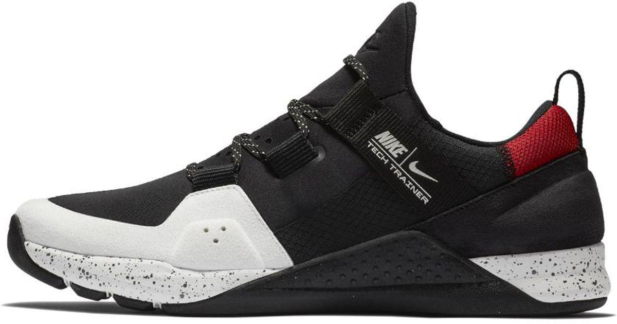 Lyst - Nike Tech Trainer Men s Training Shoe in Black for Men cae76cfc9