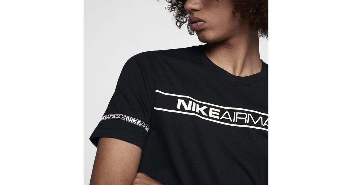 94f17cfd Nike Sportswear Air Max Crew in Black for Men - Lyst