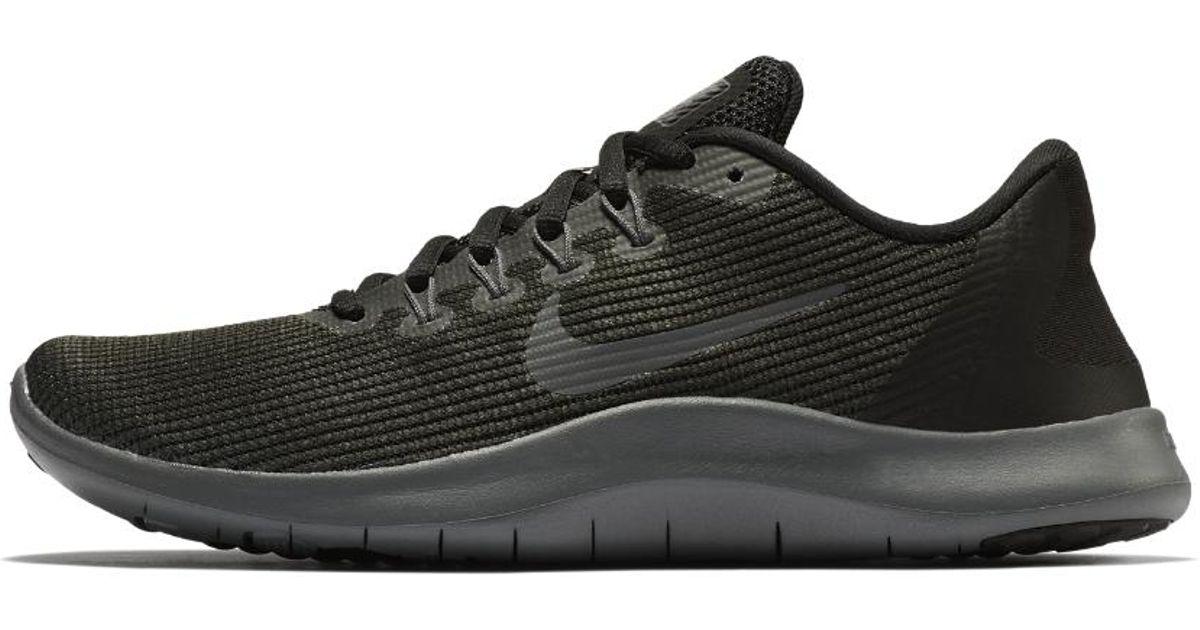 873399fc032c Lyst - Nike Flex Rn 2018 Women s Running Shoe in Black - Save 32%