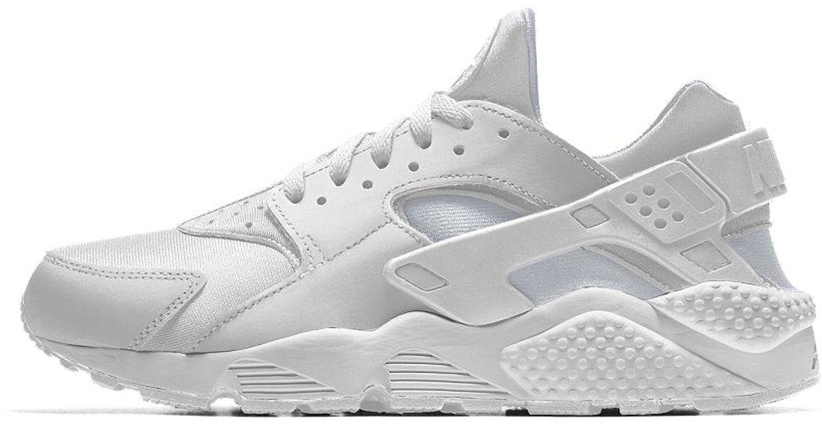 ae5ce7831709b Lyst - Nike Air Huarache Essential Id Men s Shoe in White for Men