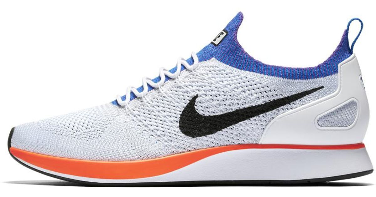 6dcad1773e44 Lyst - Nike Air Zoom Mariah Flyknit Racer Men s Shoe in Blue for Men