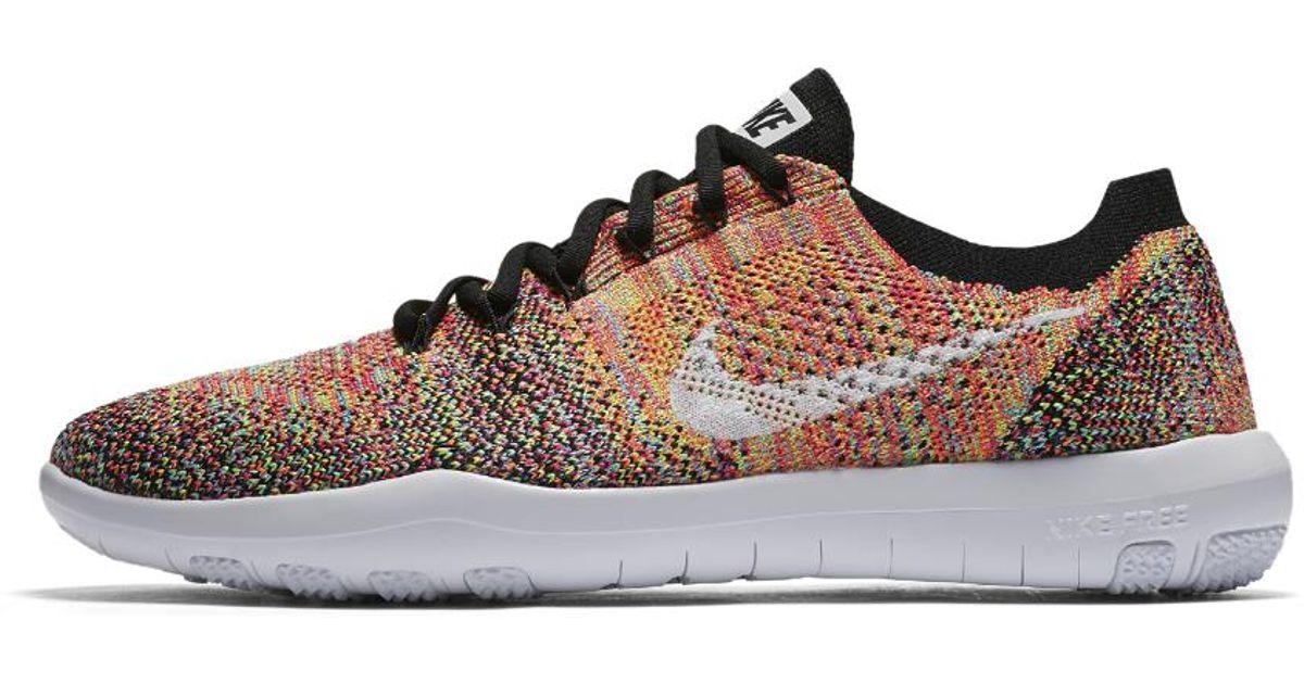 99dbb41fffe83 Lyst - Nike Free Focus Flyknit 2 Women s Training Shoe in Brown