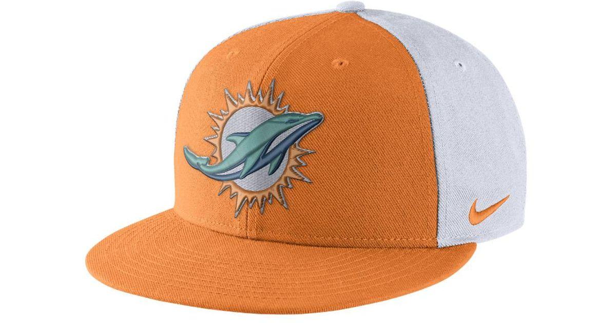 Lyst - Nike Color Rush True (nfl Dolphins) Adjustable Hat (orange) in  Orange for Men 2fb6b5a30