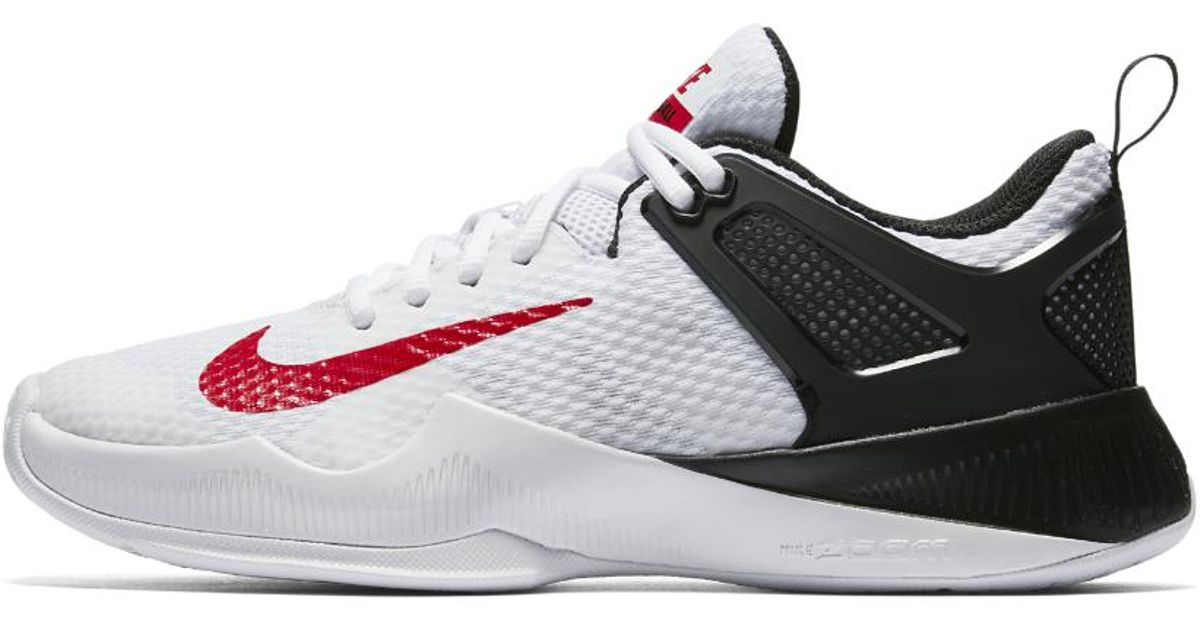 new style 3e522 504b4 Nike Air Zoom Hyperace Women s Volleyball Shoe in White - Lyst