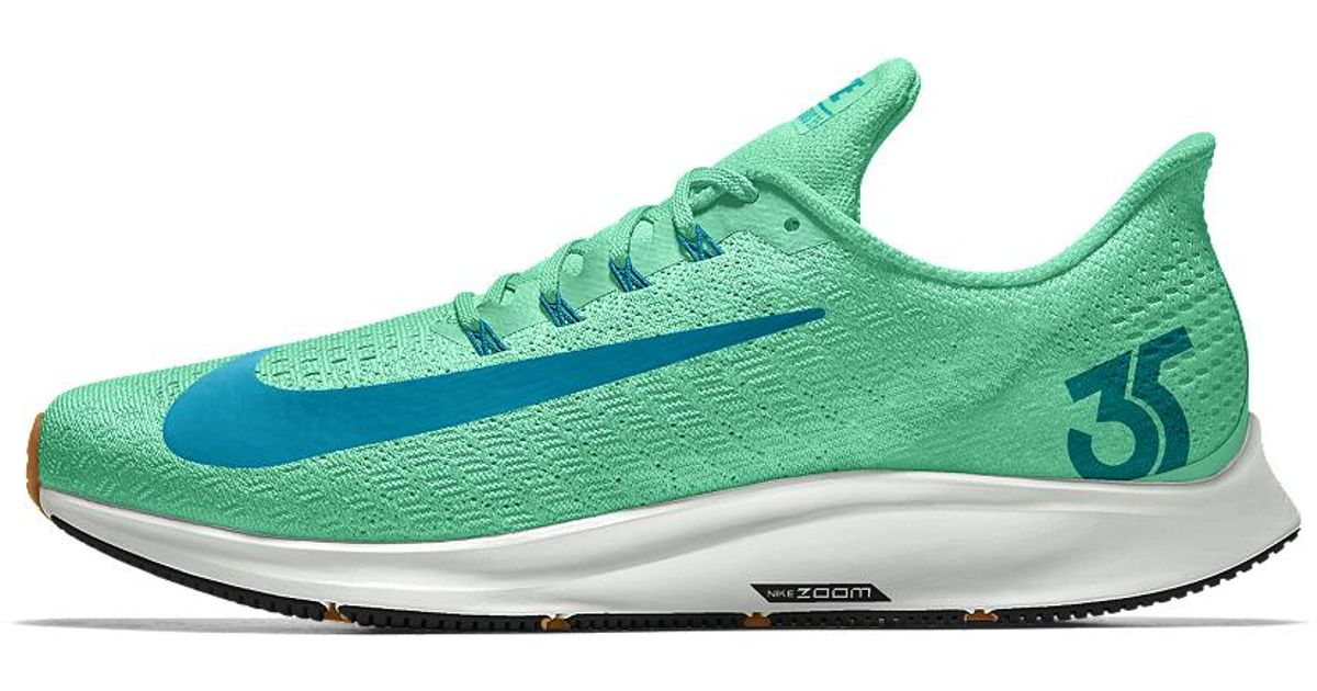 46c20fee88c ... where can i buy lyst nike air zoom pegasus 35 id womens running shoe in  green