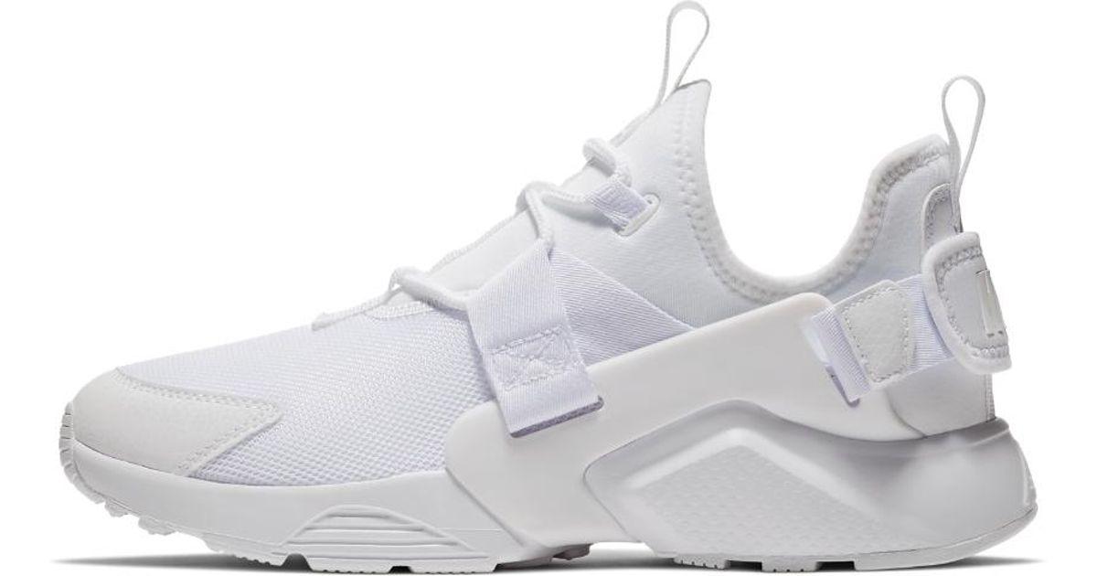 14bfea8915c966 Lyst - Nike Air Huarache City Low Women s Shoe in White