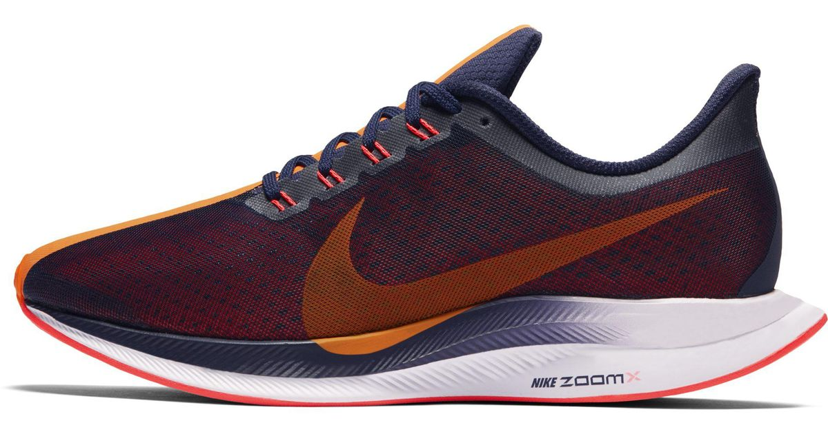 06824f87221f Nike Zoom Pegasus 35 Turbo Running Shoes in Blue - Save 30% - Lyst