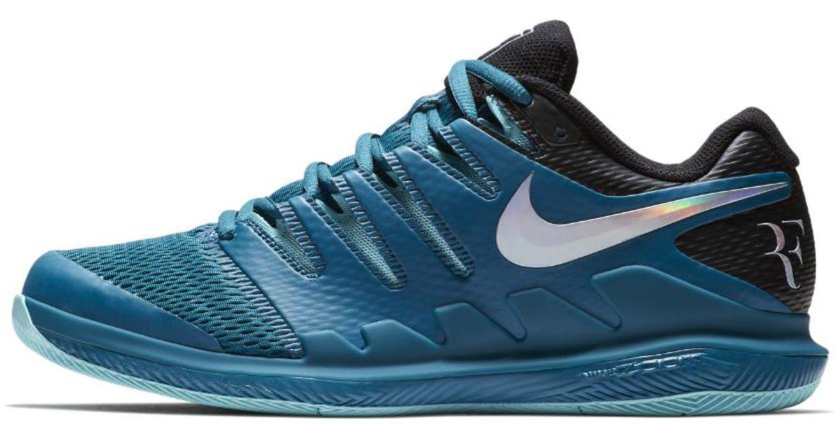 best service cbea0 62786 Lyst - Nike Air Zoom Vapor X Hc Men s Tennis Shoe in Blue for Men