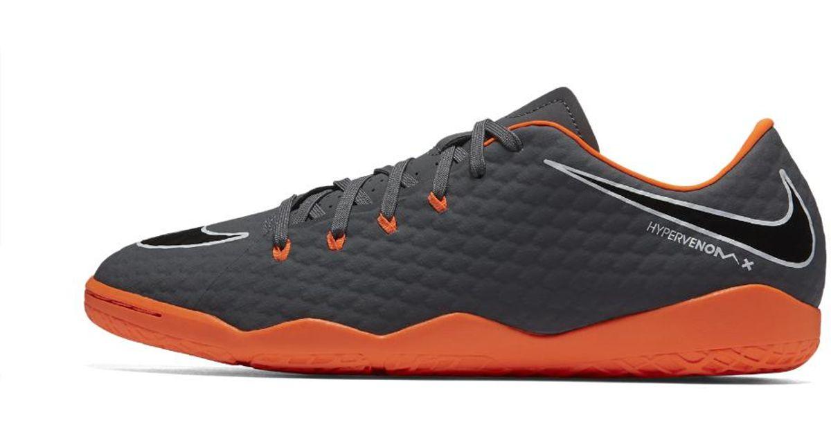 dad48d2462 Lyst - Nike Hypervenom Phantomx Academy Iii Ic Indoor court Soccer Shoe in  Gray for Men